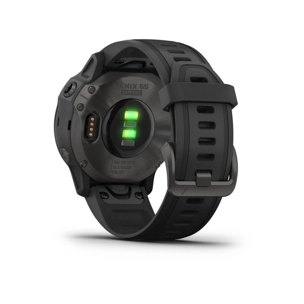 GARMIN Fēnix® 6S Sapphire Carbon Gray DLC