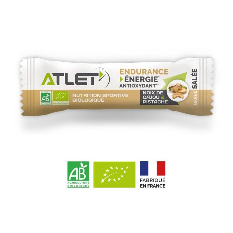 ATLET Barre énergétique bio salée