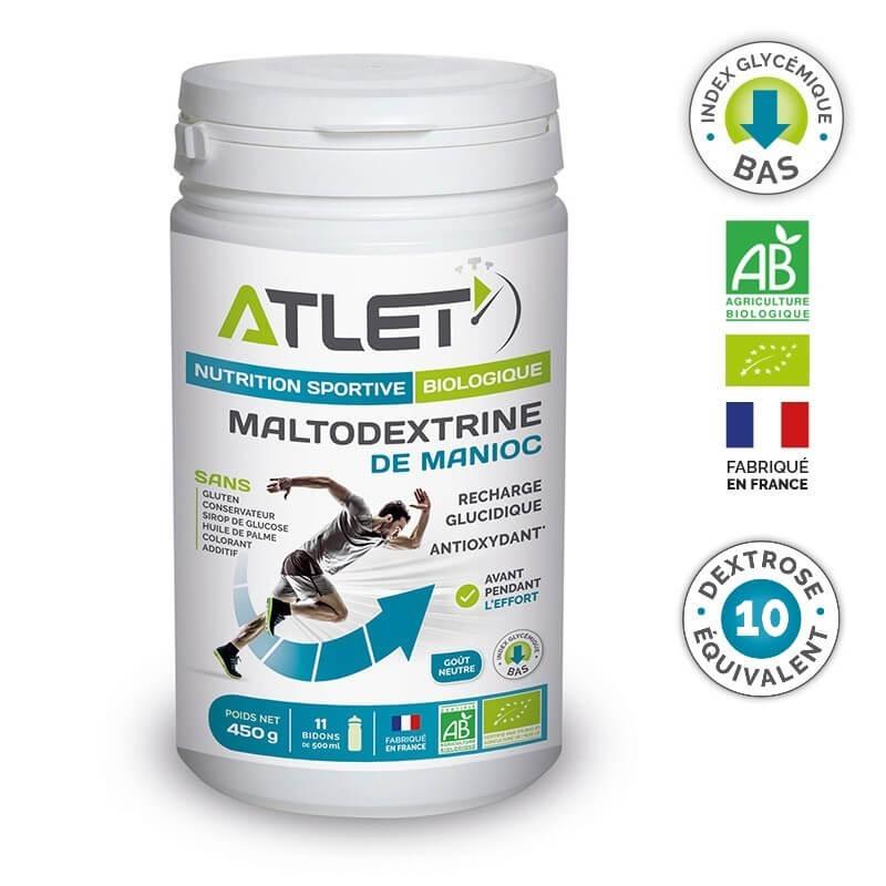 ATLET Maltodextrine de Manioc bio 450g [D.E de 10]