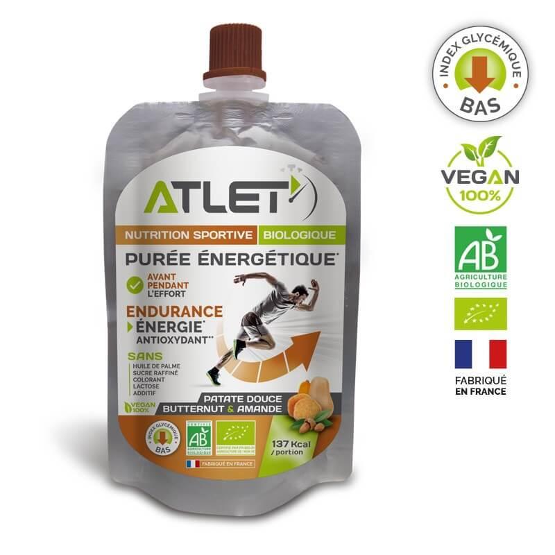 ATLET Purée énergétique bio butternut et patate douce